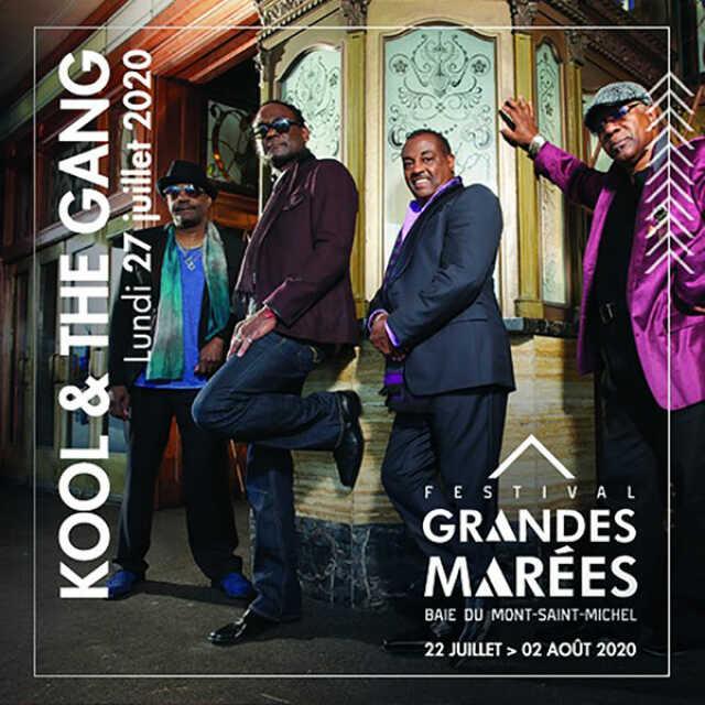KOOL & THE GANG + 3 CONCERTS
