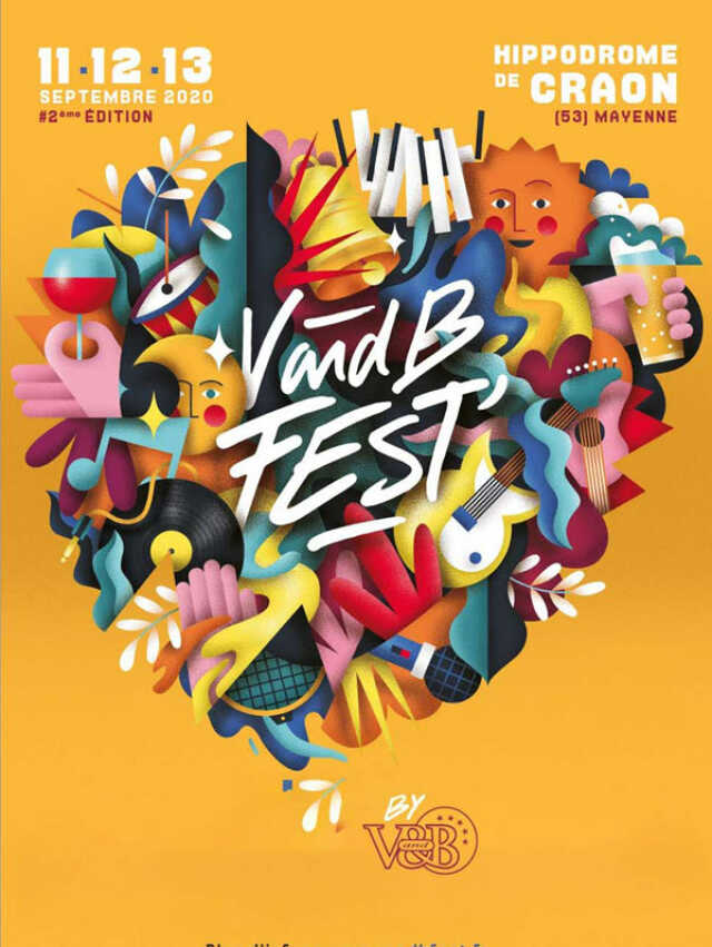 V AND B FEST'- PASS 3 JOURS