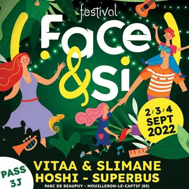 FESTIVAL FACE&SI - PASS 3 J.
