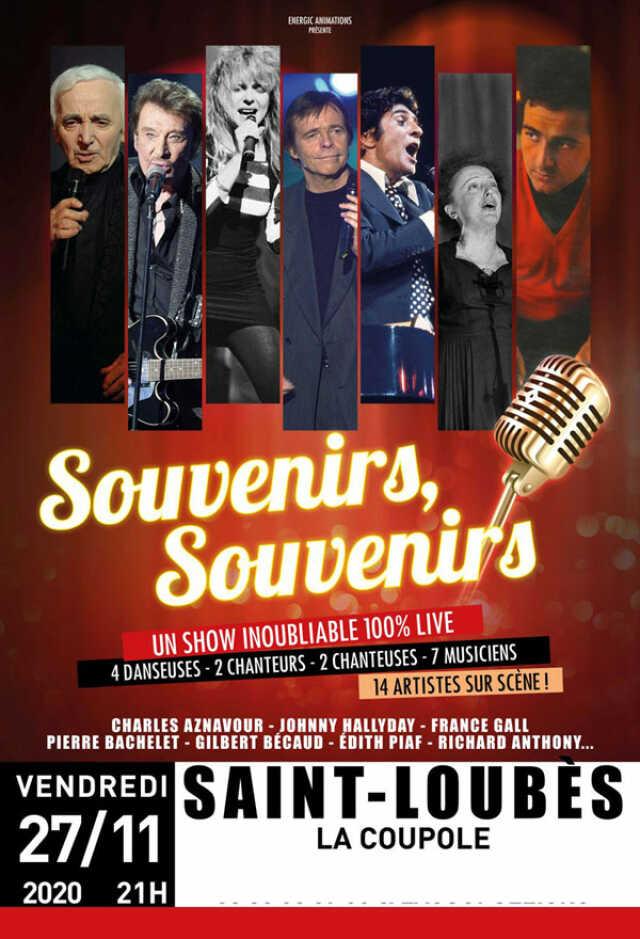 Gironde   Spectacle musical   SOUVENIRS SOUVENIRS   Agenda ST