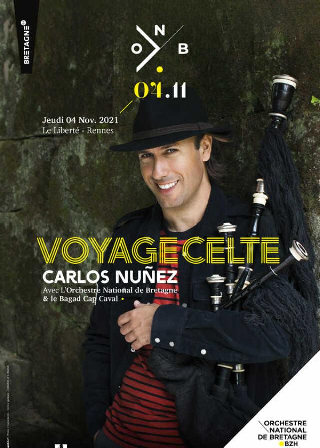 VOYAGE CELTE - CARLOS NUNEZ & L'ONB