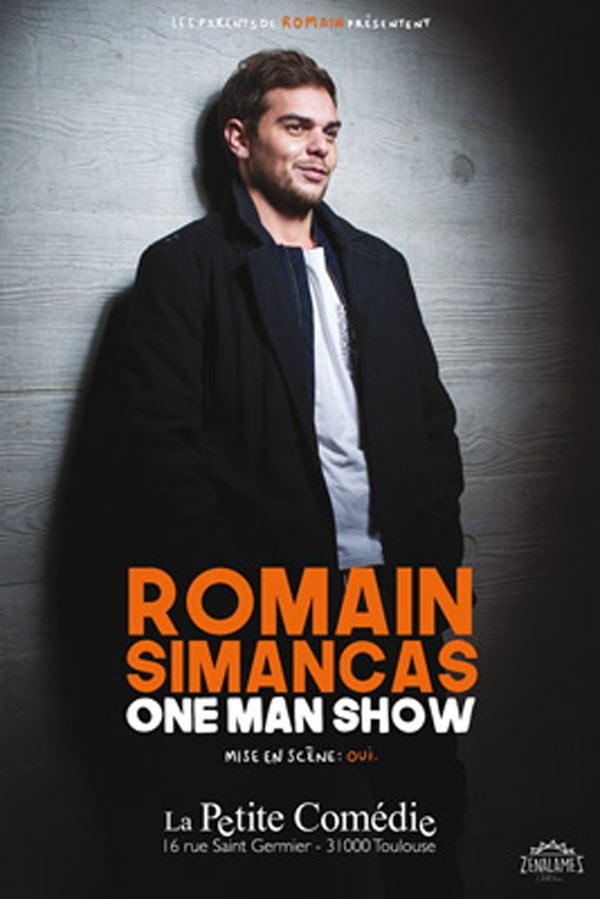 ROMAIN SIMANCAS - ONE MAN SHOW