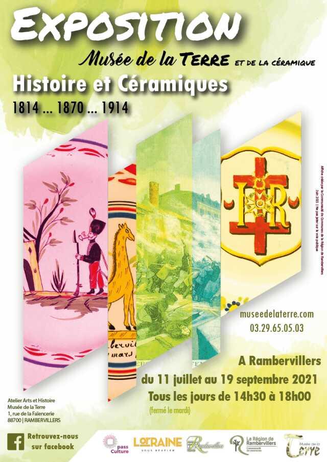 EXPOSITION 'HISTOIRE ET CÉRAMIQUES'