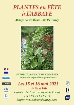 PLANTES EN FÊTE À L'ABBAYE D'AUTREY