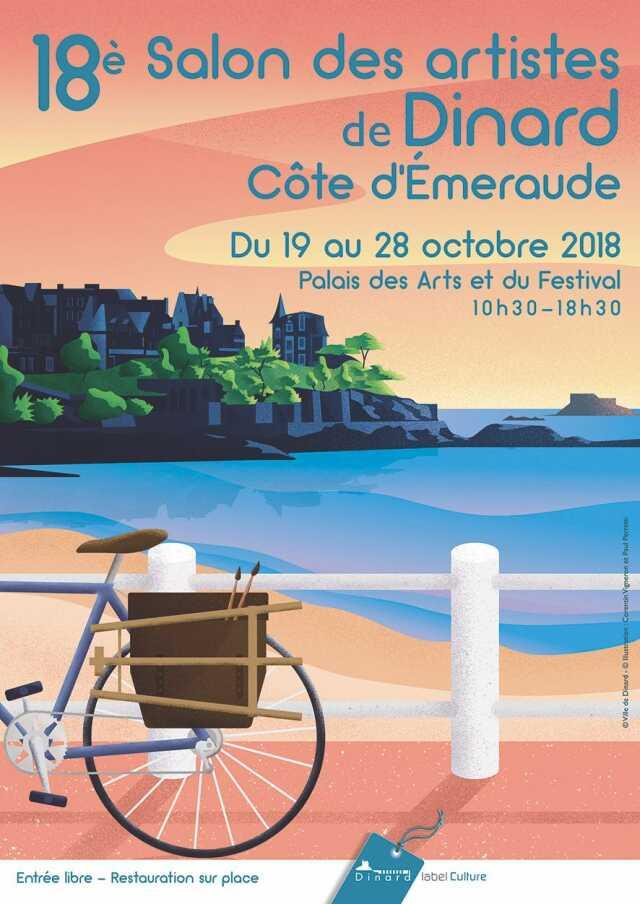 19ème salon des artistes de Dinard - Côte d'Émeraude
