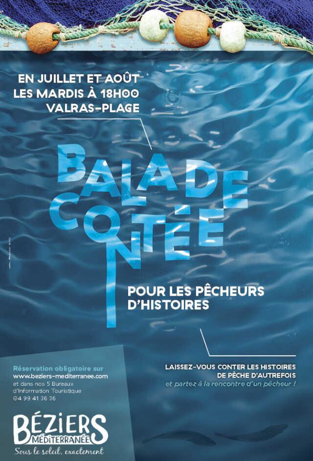 BALADE CONTEE POUR LES PECHEURS D'HISTOIRES