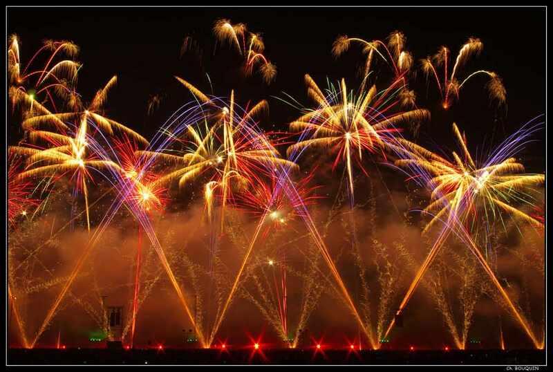 Nuits de Sologne - spectacle pyrotechnique