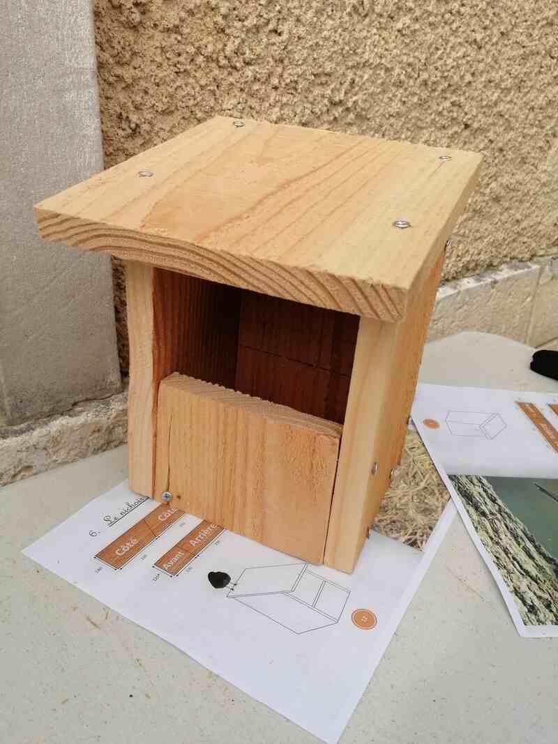Atelier nichoirs à Lignières