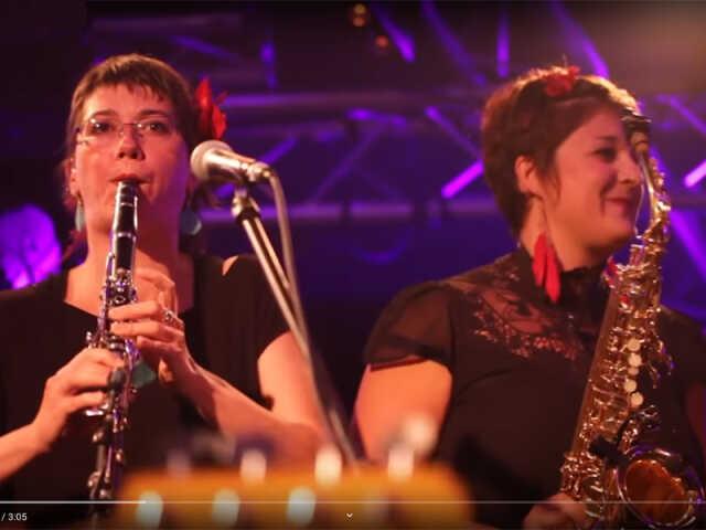 Plancha / concert avec Las gabachas de la cumbia